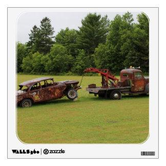 Antique Vehicles Summer 2016 Wall Sticker