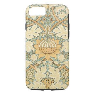 Antique Victorian William Morris Floral Leaf Plant iPhone 7 Case