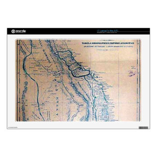 Antique Vietnamese map Skins For Laptops