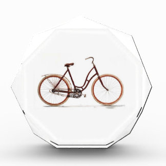 Antique Vintage Bicycle Red Design Style Award