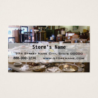 Antique Vintage Business Card