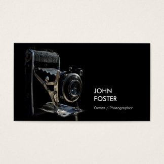 Antique Vintage Camera Store - Photographer Business Card