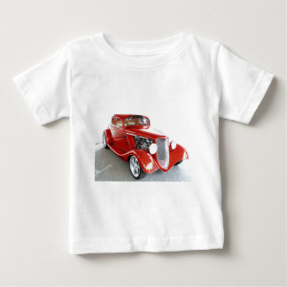 Antique Vintage Collector RED car Baby T-Shirt