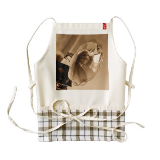 Antique Vintage Gramophone Gifts Music Lovers Zazzle HEART Apron