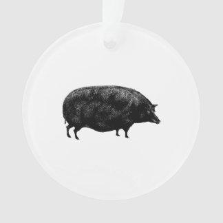 Antique Vintage Pig Ornament