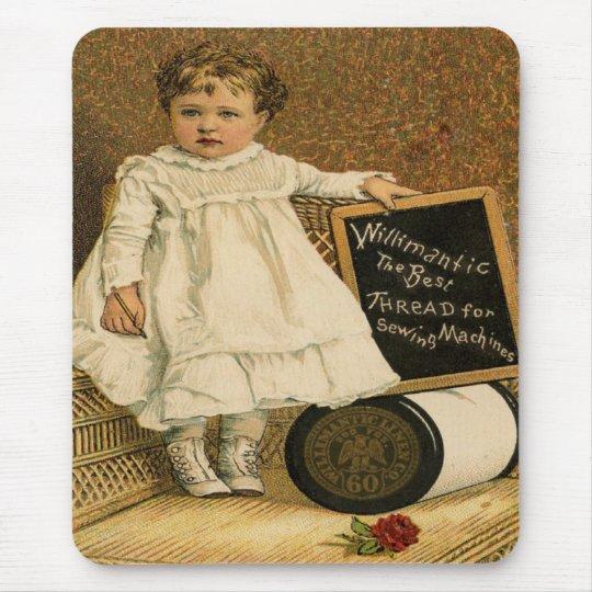 Antique Vintage Victorian Child Mousepad