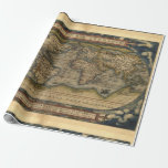 Antique Vintage World Map Atlas Decorative Roll Gift Wrapping Paper