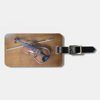 Antique Violin Tags For Luggage
