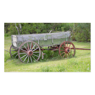 Antique Wagon Business Card