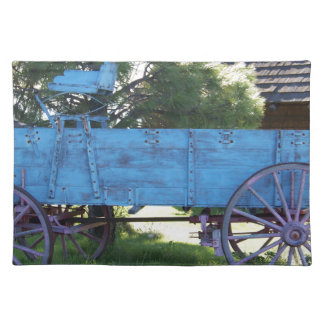Antique wagon cloth placemat