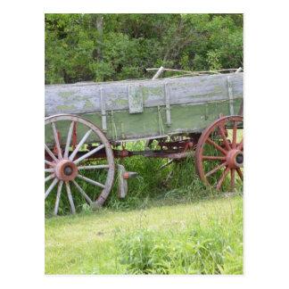 Antique Wagon Postcard