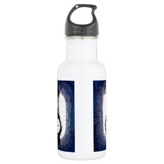 Antique Wall Barometer Pop Art Blue Print Stainless Steel Water Bottle