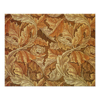 Antique Wallpaper Leaves - Acanthus Print