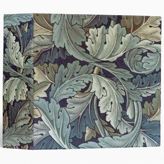 Antique wallpaper leaves binders