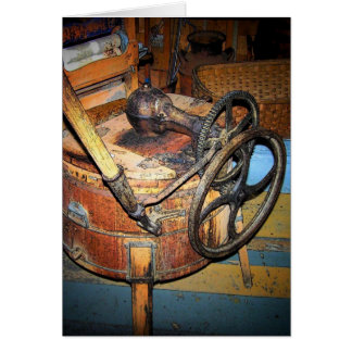 Antique Washer Greeting Card