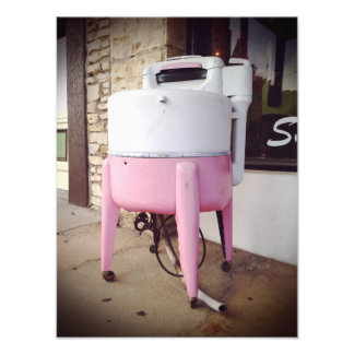 Antique Washing Machine Photo