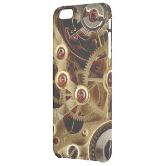 Antique Watch Mechanism Clear iPhone 6 Plus Case