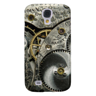 Antique Watch Works Phone Case Galaxy S4 Cover