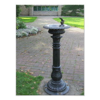 Antique Water Drinking Fountain Photo Print