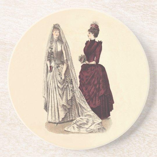 Antique Wedding Coaster