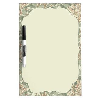 Antique Wedding Country Honeysuckle Dry Erase Board