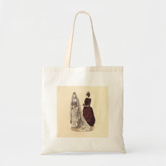 Antique Wedding Tote Bag