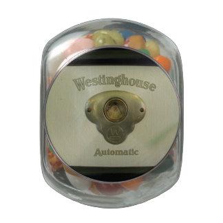 Antique Westinghouse Glass Jar