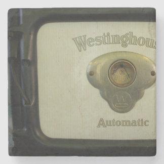 Antique Westinghouse Stone Coaster