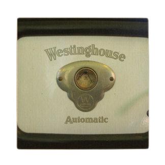Antique Westinghouse Wood Coaster