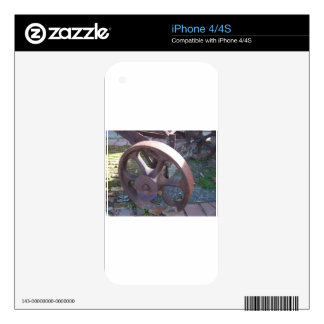 Antique Wheel Decals For The iPhone 4