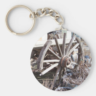 Antique Wheel Keychain
