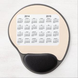 Antique White 2 Year Calendar Gel Mouse Pad Gel Mouse Mats