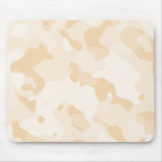 Antique White Camo Camouflage Mousepads
