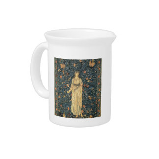 Antique William Morris Flora Drink Pitcher
