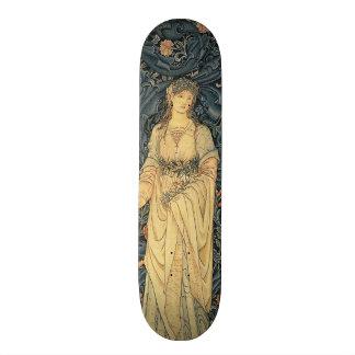 Antique William Morris Flora Skateboard