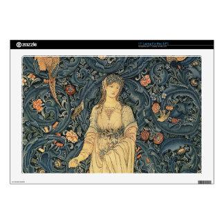 Antique William Morris Flora Skin For Laptop