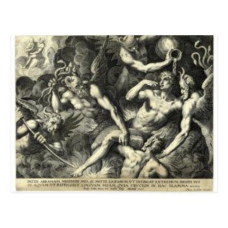 Antique Witch Postcard