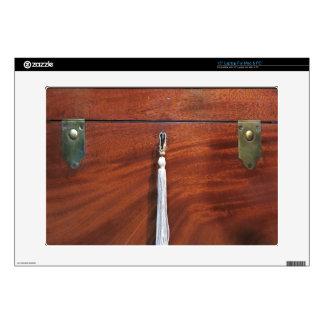 Antique Wood Box Laptop Netbook Decal Skin