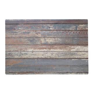 Antique Wood Placemat