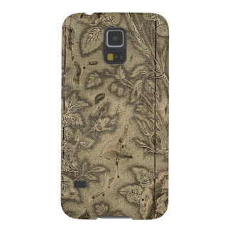 Antique Wood Printing Block. Case For Galaxy S5