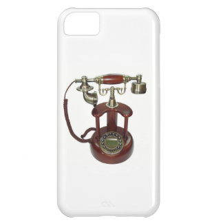 Antique Wood Telephone Pictre for your I Phone Case For iPhone 5C