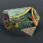 """Antique World Globe Map Vintage Art History Tie<br><div class=""""desc"""">, </div>"""