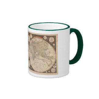Antique World Map, 1799 (Thomas Kitchen) Coffee Mugs