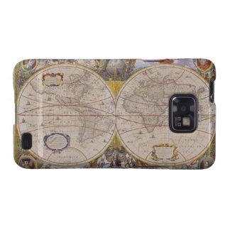 Antique World Map 2 Samsung Galaxy S2 Case