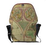 Antique World Map by Carington Bowles, circa 1780 Commuter Bag