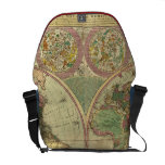 Antique World Map by Carington Bowles, circa 1780 Commuter Bag
