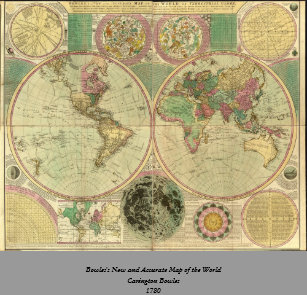 1780s posters zazzle antique world map by carington bowles circa 1780 poster gumiabroncs Gallery
