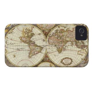 Antique World Map, c. 1680. By Frederick de Wit Case-Mate iPhone 4 Case