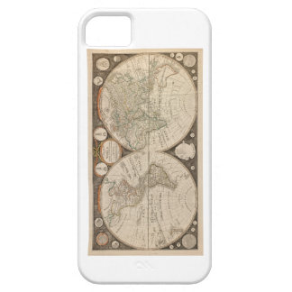 Antique World Map from 1799 by Thomas Kitchen iPhone SE/5/5s Case