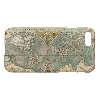 Antique World Map in Latin iPhone 8/7 Case